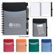 Tri-Pocket Notebook - Tri-pocket notebook for taking down important notes or jotting new ideas and reminders.