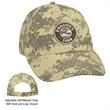 Digital Camouflage Cap - Digital Camouflage Cap. 100% Cotton Ripstop.  6 Panel, Medium Profile.  Structured Crown & Pre-Curved Visor.