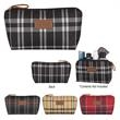 Soho Cosmetic Bag - Soho cosmetic bag available in a preppy, multicolor design for storing beauty supplies and more.