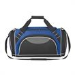 Super Weekender Duffel Bag - Polyester and Dobby duffel bag with top double zippered compartment.