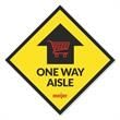 12 x 12 Square Removable Adhesive Floor Decal - Grab attention with these Full-Color Floor Decals! These durable floor decals are designed to adhere to a variety of hard floor