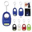 COB Light Key Chain With Bottle Opener - Extra bright white COB light key chain with metal bottle opener and split ring attachment.
