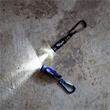 Zoomie Mini LED Flashlight - This mini light has a lightweight aluminum barrel and 1 LED bulb.