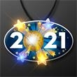 2021 New Year's Eve Blinky Necklace