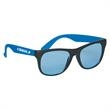Tinted Lenses Rubberized Sunglasses - Tinted Lenses Rubberized Sunglasses