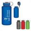 32 Oz. Tritan™ Hydrator Sports Bottle - 32 oz. sports bottle with rubberized finished and self-attached screw-on, spill resistant lid