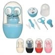 """NailedIt Manicure Kit - 4"""" x 4 1/2"""" manicure kit with scissors, nail clipper, tweezers and glass nail file"""