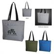 """Solstice Reflective Cooler Tote Bag - Cooler bag made of 170 thread reflective polyester with foil laminated PE foam insulation and 23"""" handles"""