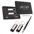Baldwin Stylus Pen And Leatherette Key Tag Box Set - Stylus pen and leatherette key tag box set