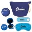 Cosmetic Bag Spa Kit - Cosmetic Bag Spa Kit Pricing Includes a 1 Color Imprint in 1 Location on Each Item