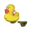 "24"" Inflatable Rubber Duck  Drink Holder - Floating 24"" PVC Inflatable Rubber Duck Beverage Holder."