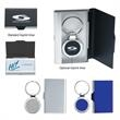 2-In-1 Key Tag/Business Card Holder - Two in one key tag and business card holder.