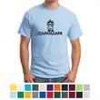 Hanes- EcoSmart50/50 Cotton/Poly T-Shirt - Hanes EcoSmart 50/50 cotton/polyester T-shirt made with up to 5% recycled polyester.