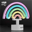 Neon LED Rainbow USB Tabletop Light