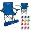 Folding Chair With Carrying Bag - Folding chair with carrying bag made of 600 denier nylon.