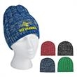 Knit Heathered Beanie Cap - Knit Heathered Beanie Cap 100% Acrylic One Size Fits All Comes In 5 Great Colors!