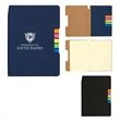 Sticky Flag Journal Notebook - Journal notebook with lined pages and sticky flags