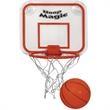 Mini Basketball & Hoop Set - Miniature basketball and hoop set.