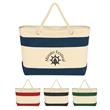 Large Cruising Tote Bag With Rope Handles - Large Cruising Tote Bag With Rope Handles