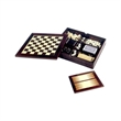Executive 7-in-1 Wooden Game Set - Executive 7-in-1 game set.