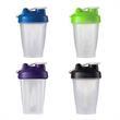 14 oz Classic Loop Top Shaker Bottle - 14 oz. Plastic Shaker Bottles, Filter Inside, Translucent Body, Colored Caps with flip top mechanism.