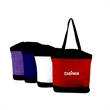 Bag - Zippered large size tote bag made of 600D polycanvas.
