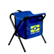 Cool Stool - Insulated cooler chair with steel frame.