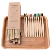 Eco Friendly Bamboo Toothbrush With Case