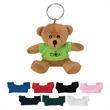 "Mini Bear Key Chain - 3 1/2"" mini brown bear key chain."