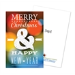 Holiday Seed Paper Shape Panel Card