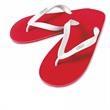 Seaside Flip Flops