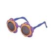 Flower Power - Sunglasses shaped like flowers with flip-up lenses.