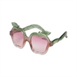 Apple Dandies - Sunglasses with frames shaped like apples.