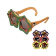 Star Watchin' - Star-shaped sunglasses in multiple colors with super dark lenses.