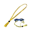 Tubular Sunglass Retainer w/Rubber Slider Stopper - Sunglasses strap with rubber slider stopper.