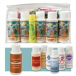 Arizona Sun Gift Set- 5 Products - Made In The USA - Mini travel pac with choice of five 1 oz. beauty products and Lip Kist lip balm.