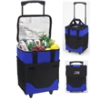 """Collapsible Rolling Cooler - 32 Can - 9.75"""" x 12.5"""" x 17.5"""" collapsible, insulated, 32-can capacity cooler that's made of polycanvas  and has wheels"""