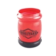 Beverage Insulator - Two tone metallic beverage insulator with a black bottom, closeout.
