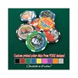 Poker Chip - Custom poker chip used for trade show giveaways, business cards and home games!