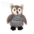 "6"" Custom Be Wise Buckle Up Owl"