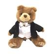 """8"""" Tuxedo Groom Bear"""