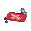"Sunglass Case/Golfball Case - Sunglass case made of scuba material, w 6 1/2"" x 3"" x 1/2""."