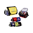 Six Pack Lunch Cooler - Six pack lunch cooler made of 600 denier, insulated and heat-sealed.