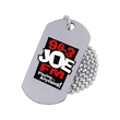 Stainless steel dog tag - Printed stainless steel dog tag, 1mm (0.04) thickness.
