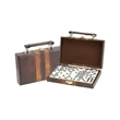 Domino Game - The double six domino in attached case is available in one color.