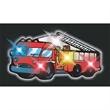 Blinking Fire Engine Body Light - Fire engine flashing pin.