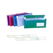 Expanding File - Expanding file with 12 clear divider, 13 pockets and elastic closure.