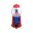 Mini glitter bubble gum machine - Bubblegum machine with coin slot on the back that can be used to serve gumballs, peanuts or jelly beans