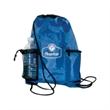 Bag - Cooler sling backpack with mesh water bottle pocket.
