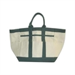 Bag - Utility tool bag made of canvas with 8 outside pockets and 4 inside pockets.